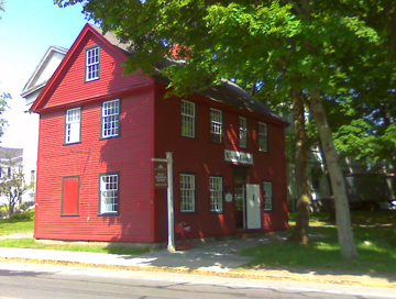 The Ipswich Visitor Center Hall Haskell House