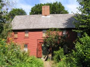 First Period house, Water St. Ipswich MA