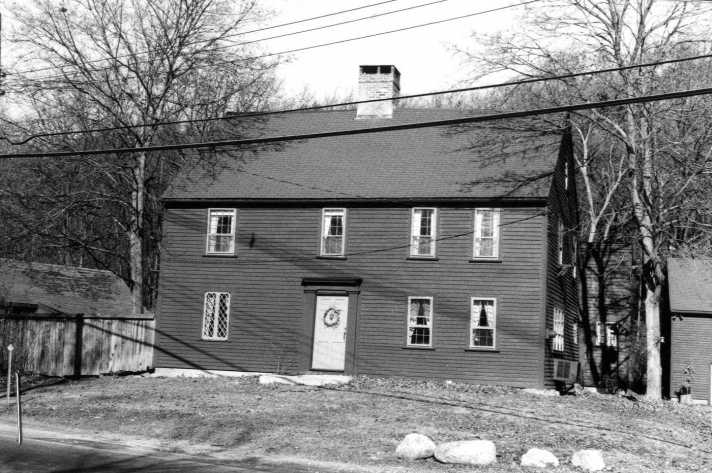 The Cate-Aaron  Jewett house on the Massachusetts Historical Commission site