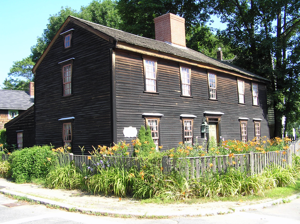 The Benjamin Grant house, County Street in Ipswich MA