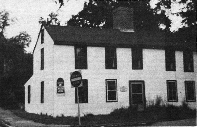 The Benjamin Grant house before it was restored