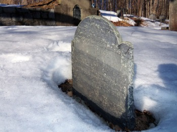 John and Sarah Caldwell are buried within a few feet of Stephen Caldwell's gravestone at the Old North Burying Ground.