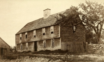 """The Howard House, from """"The Celebration of the 250th Anniversary of the Incorporation of Ipswich."""""""