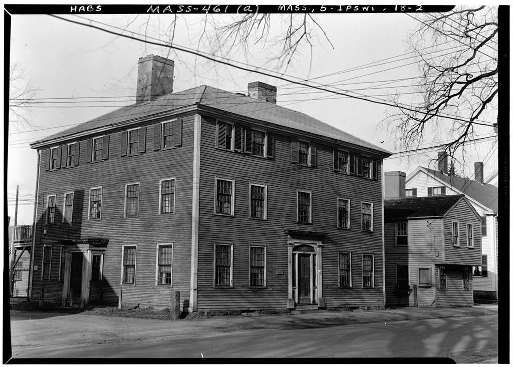 36 North Main Street, the Dr. John Manning house 1940