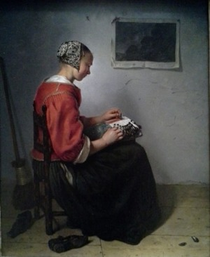 Netscher's The Lace Maker.