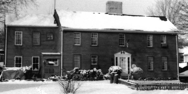 The Harris-Sutton house in the late 20th Century