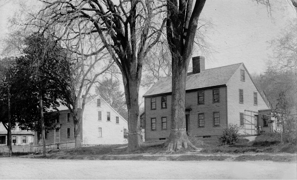 Wilcomb and Thomas Lord houses on High St. in Ipswich