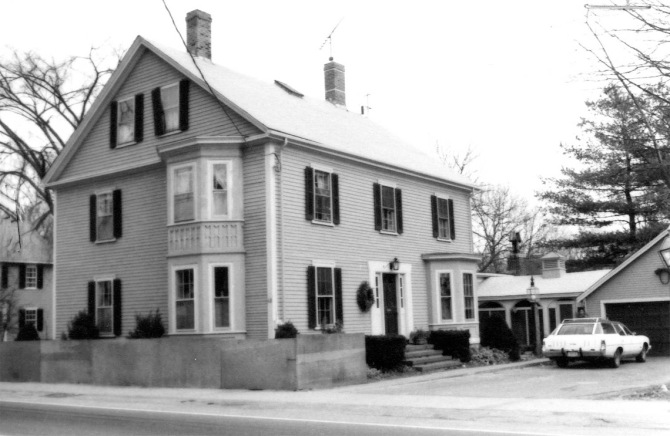 The Samuel Wade house, circa 1990