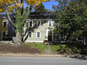 21 High Street, the Haskell – Lord house (c 1750) -