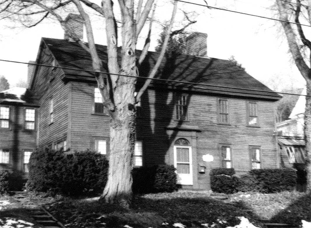 The Haskell-Lord house in the late 20th Century