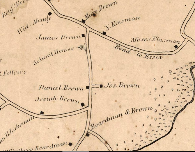1832 map candlewood brown house.jpg