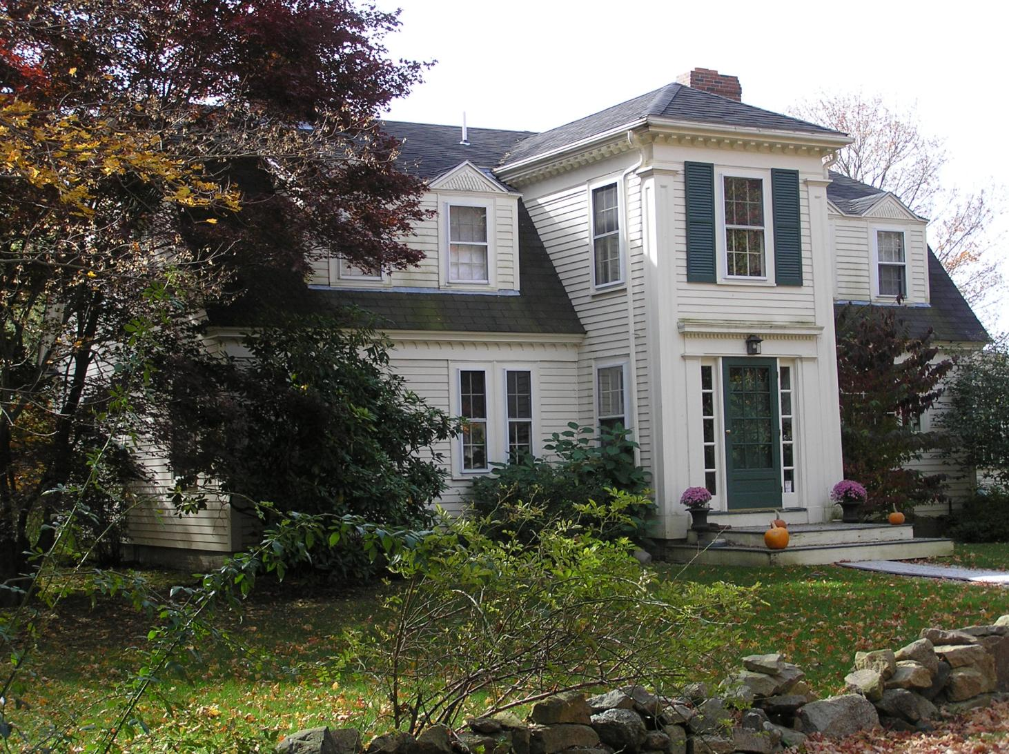 65 Candlewood Road, the Rhoda Kinsman house (b 1776)