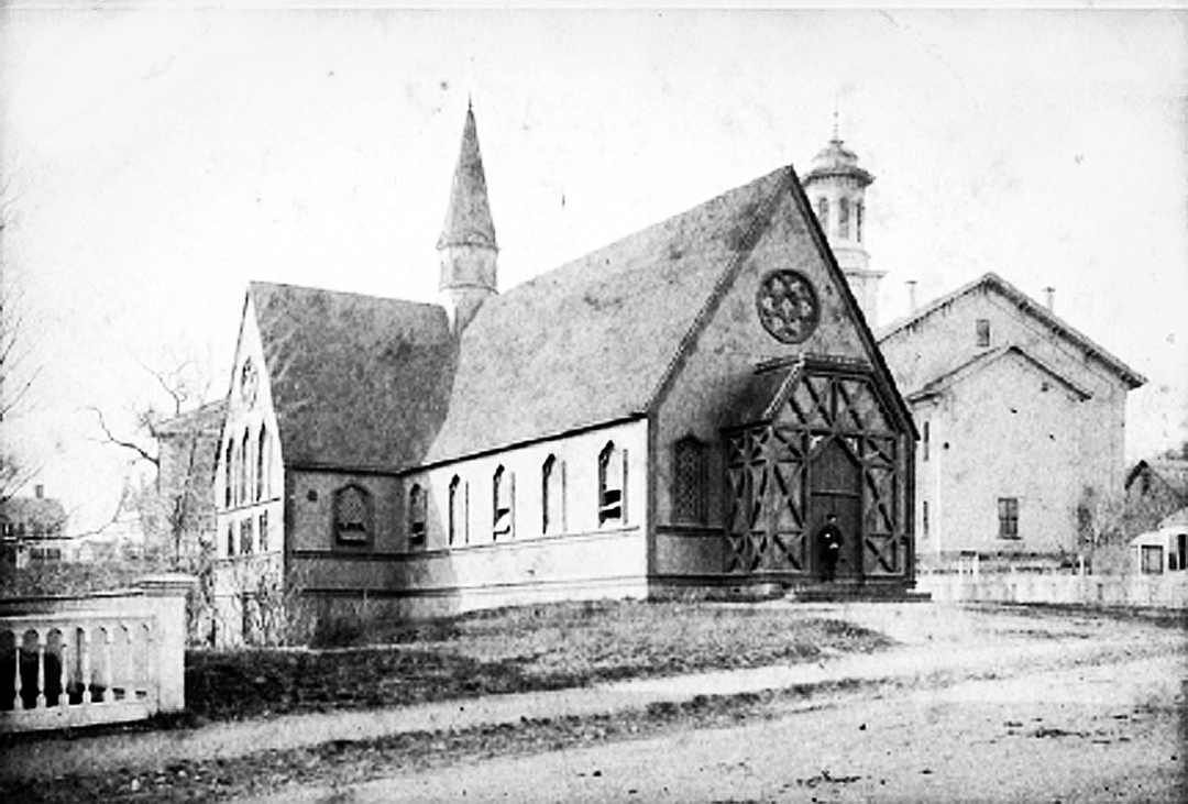 Ascension Church in 1869