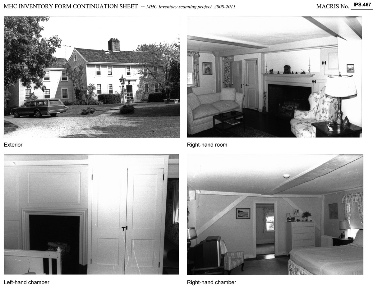 photos of the Labor in Vain house in Ipswich