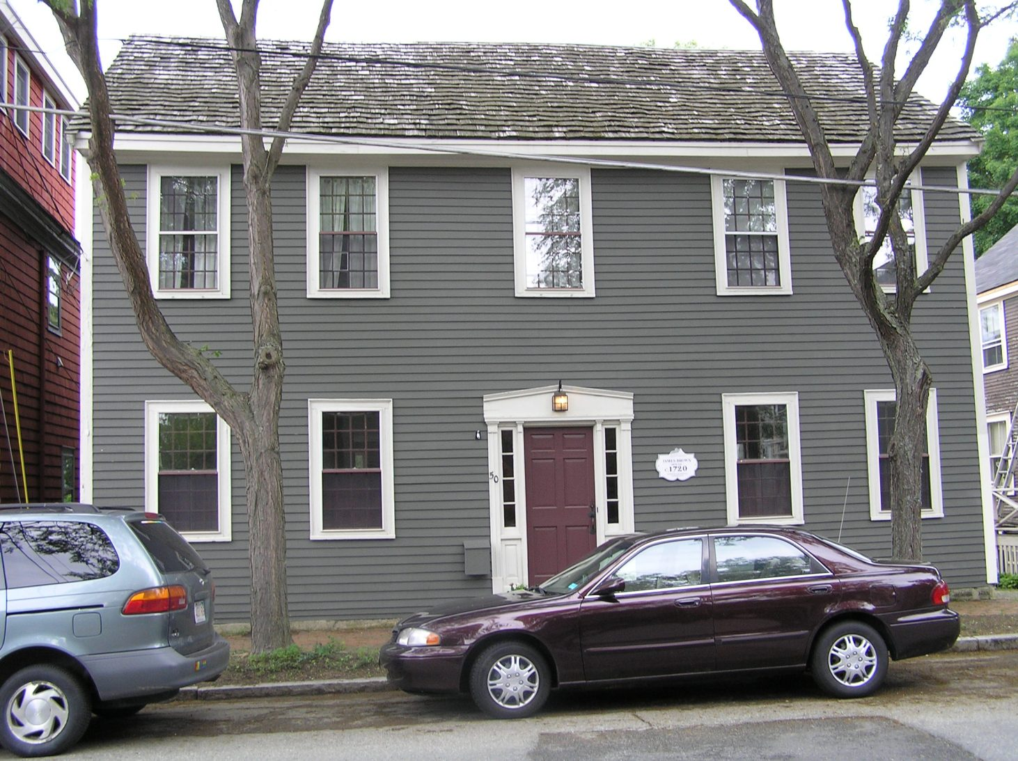 50 North Main Street, the James Brown house (1700 / 1721)