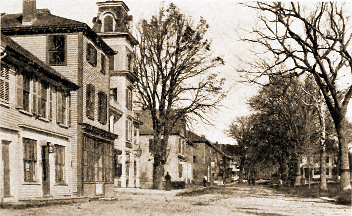 North Main St. before electricity