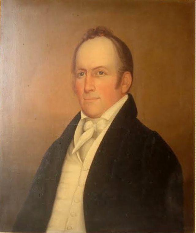 Portrait of Deacon John Staniford. from the estate of Alice Staniford Hale, courtesy of K. G. Rhoda.