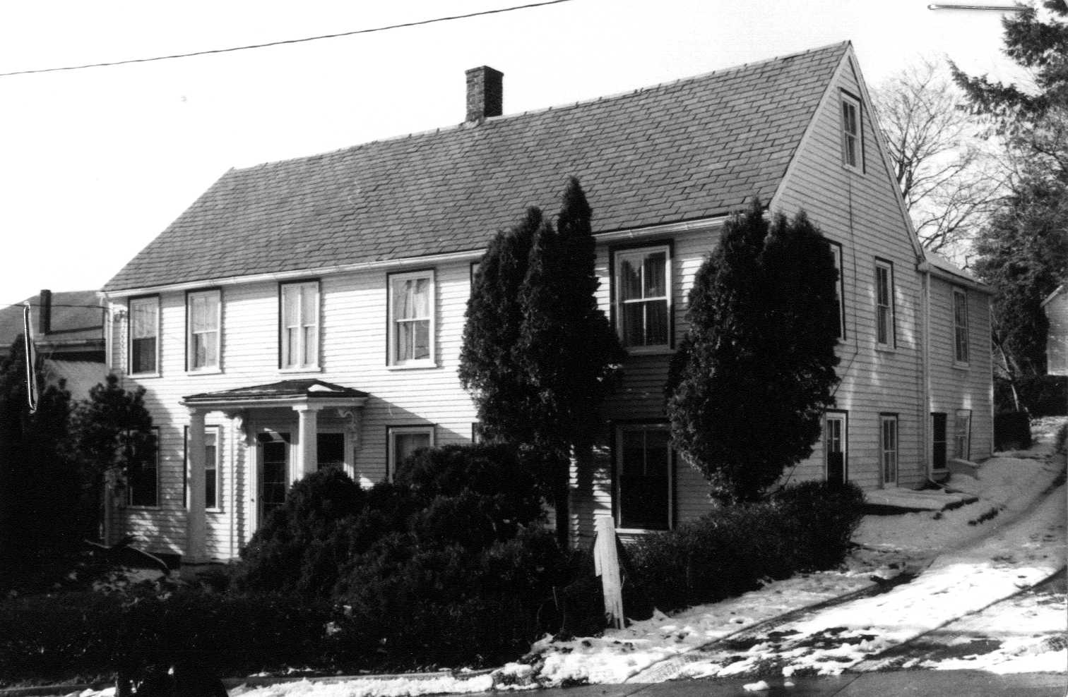 1980 photo of 6-8 N. Main Street