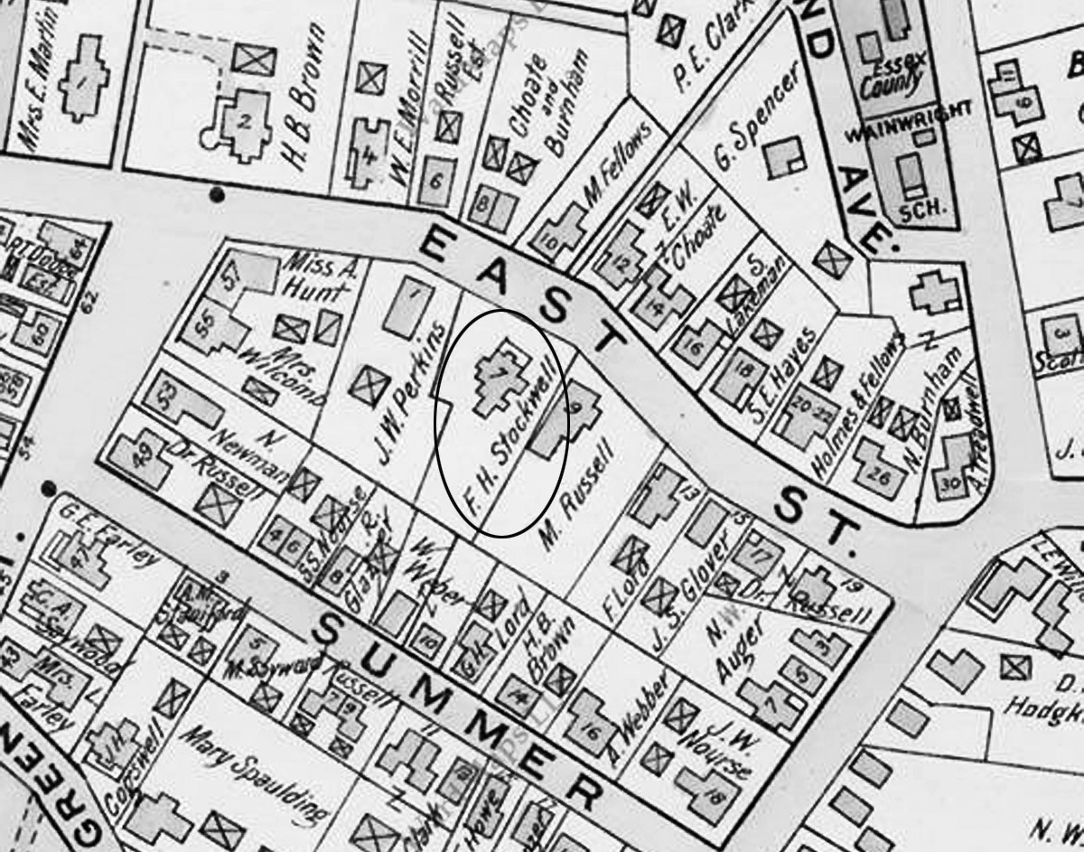 1910 map of East St.