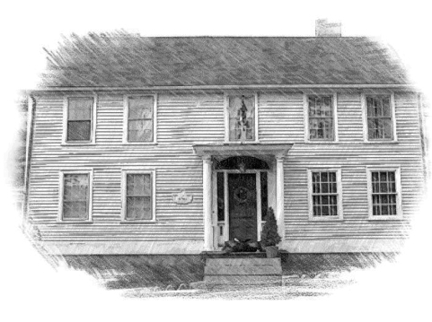 In his visits to Ipswich, Adams stayed at Nathaniel Treadwell's Inn, which is believed to be still standing, on North Main Street.