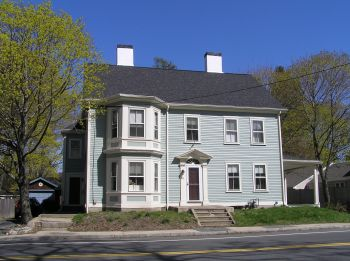 Reverends Daniel Fitz and Moses Welch House, 84 County Road, constructed by Samuel Wade
