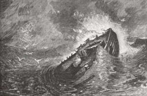 Wreck of the Deposit in Ipswich Bay