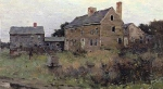 Painting by Arthur Wesley Dow of Harry Maine's house