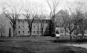 The Ipswich jail on Green Street