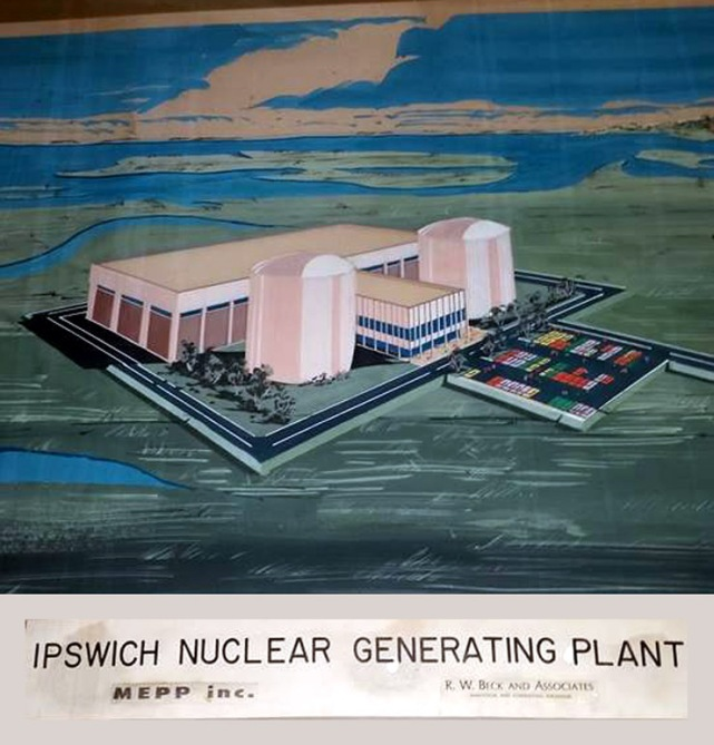 Proposed Ipswich MA nuclear power plant