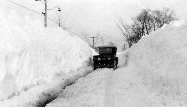 Argilla Road, winter of 1932 (courtesy Bruce Lord)