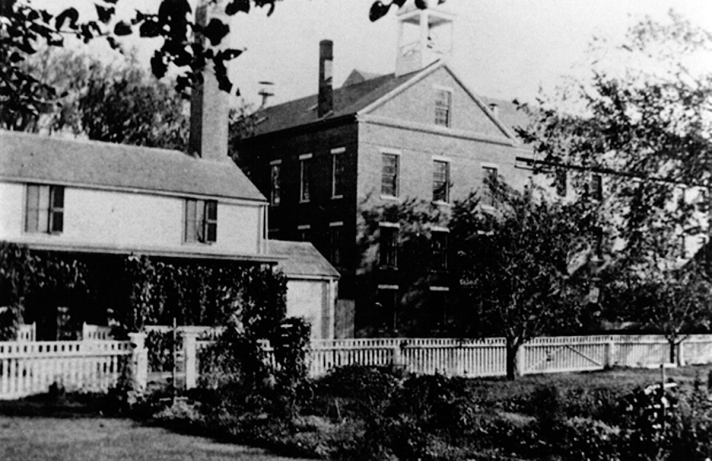 Ipswich Jail, 1828 - 1933, with jail keeper's house