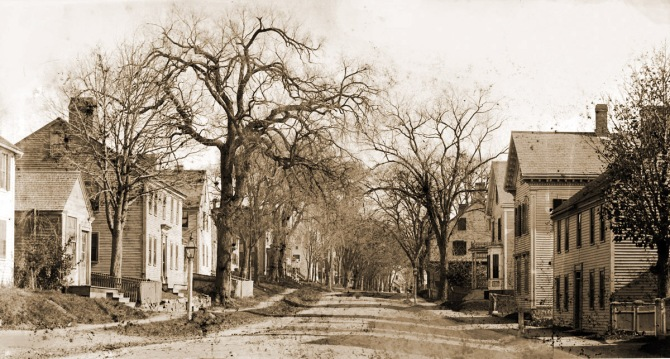 A small rise in High Street was removed in the 19th Century.
