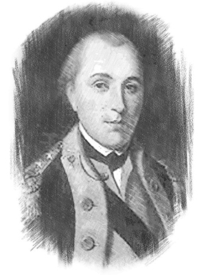 A young Lafayette, at the age he first came to Ipswich
