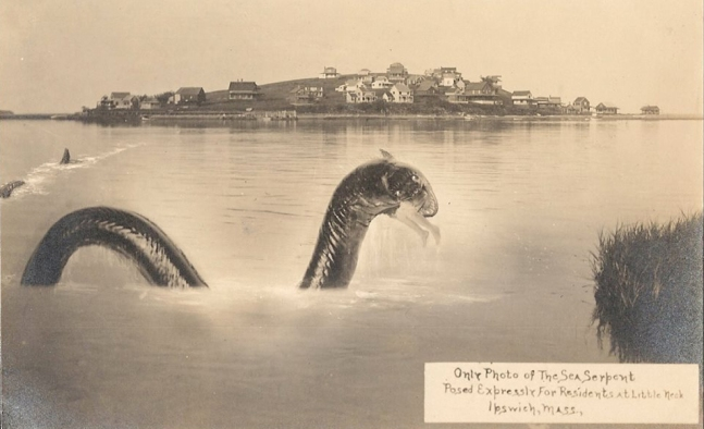 Sea serpent of Little Neck Massachusetts