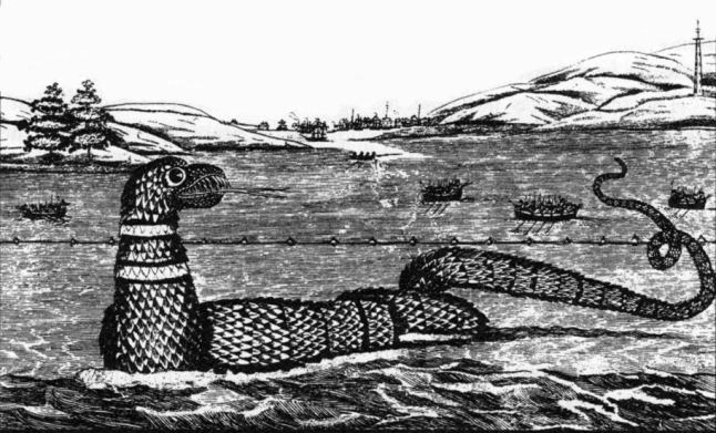 another sketch of the sea serpent seen off Gloucester