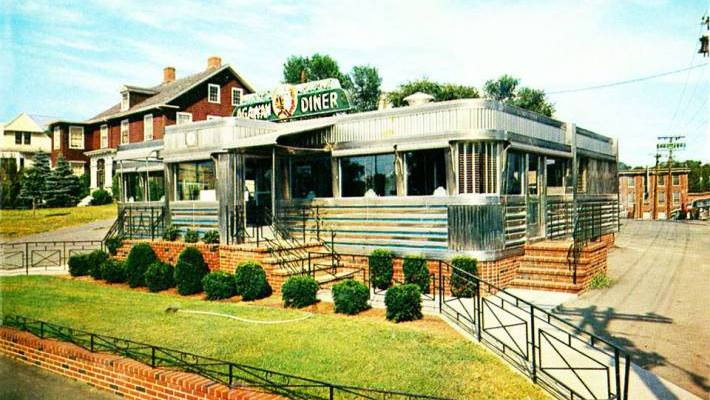 Agawam Diner when it was in Ipswich
