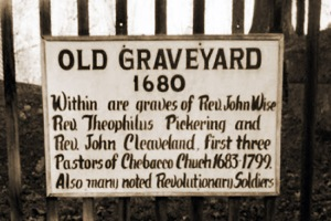 Old Graveyard 1680, Essex MA