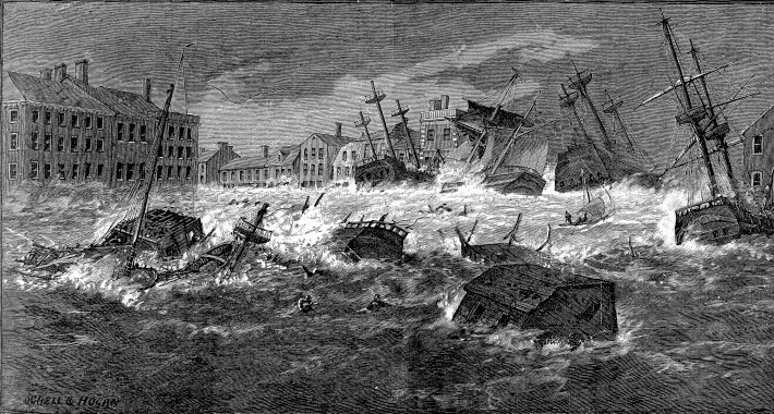 The Great Storm of 1815