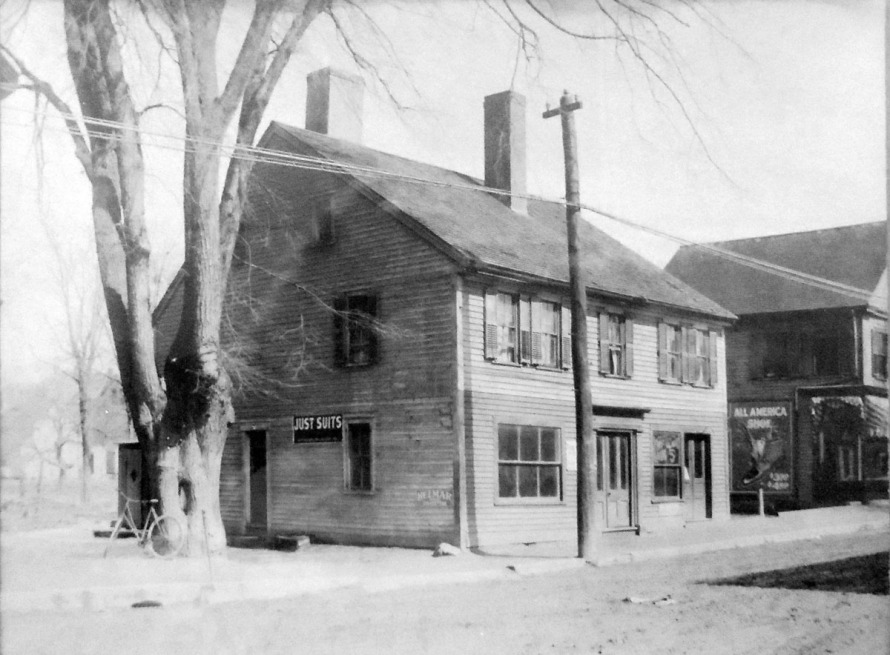 This little store was demolished when the First National Bank of Ipswich was constructed.