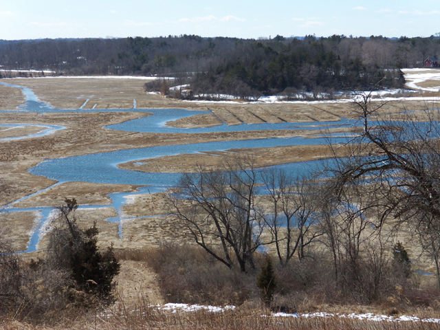 View of Fox Creek from Crane Castle