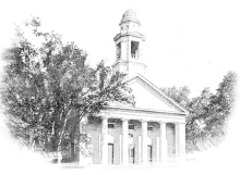 South Congregational Church, which burned in December 1977.