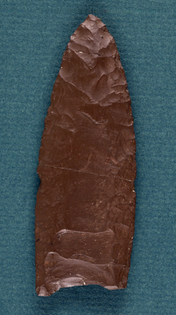 Spearboint circa 11,000 BC from the Bull Brook excavation