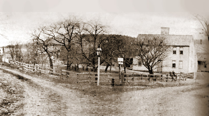 The Eben Lord farm that once sat at the intersection of Linebrook and Pineswamp Roads
