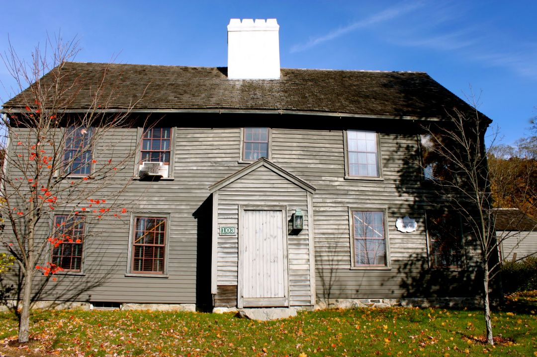 Merchant-Choate house, 103 High Street, Structural elements dating to 1650