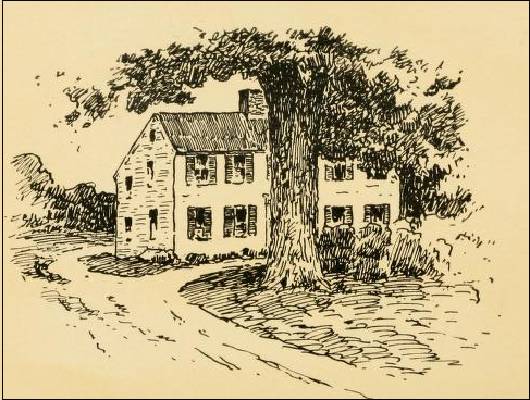 Samuel Appleton's house, which once stood at Appleton Farm, near Waldingfield Rd.