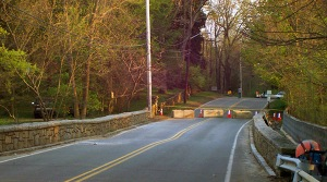 Mill Road Bridge closed