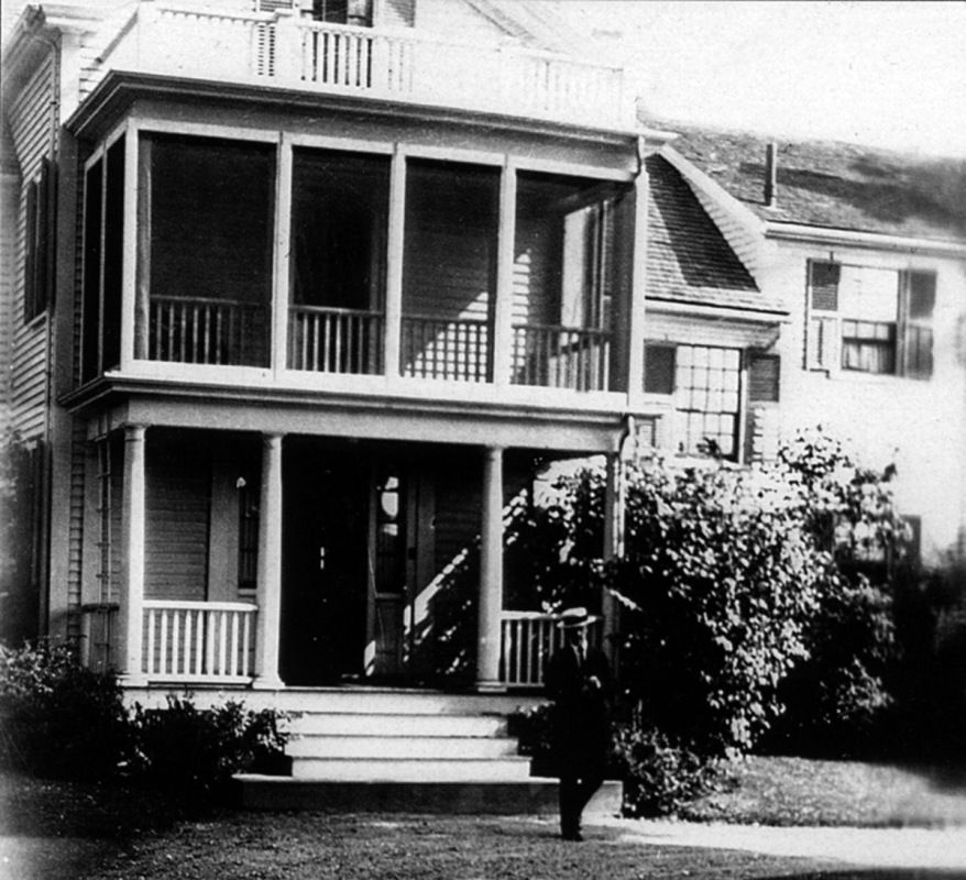 """Theodore Wendel at his """"Upper Farm"""" home on Argilla Road in Ipswich"""