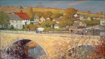 Green Street Bridge, Ipswich MA, by Theodore Wendel