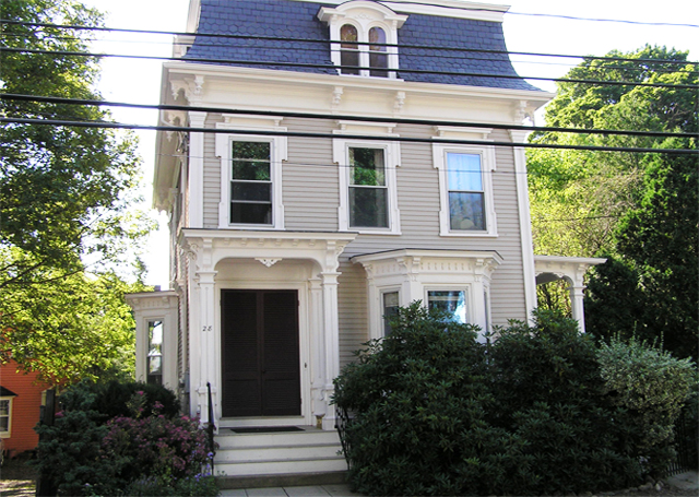Wendel's first home was on County Street