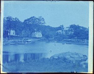 Billy Lord's home cyanotype by Arthur Wesley Dow